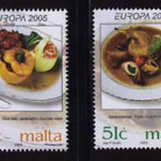 Мальта 2006 ЕВРОПА СЕПТ гастрономия