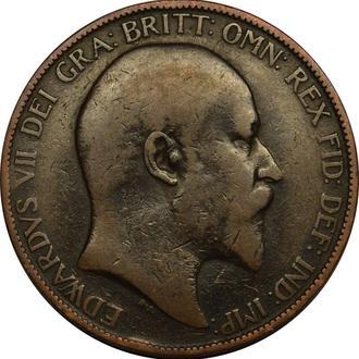 Великобританія 1 пенні 1902  B94