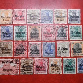 118.D.Reich-Бельгія..мікс