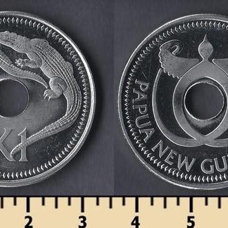 Папуа-Новая Гвинея 1 кина 2004