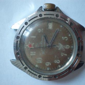 часы Восток Командирские CCCP рабочий баланс 2601221