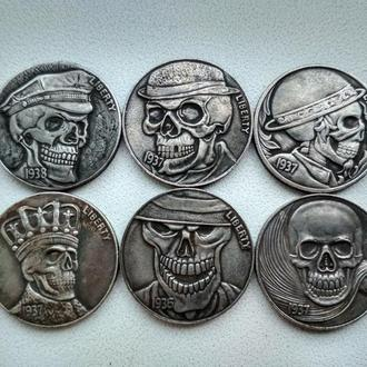 США 5 Центов .Набор монет(6 монет).