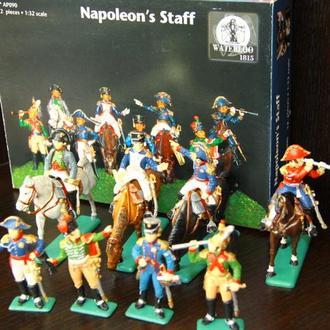 штаб Наполеона WATERLOO 60мм