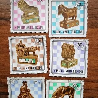 Шахматы Монголия 1981