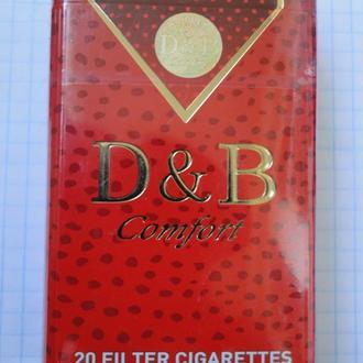 Сигареты D & B красные
