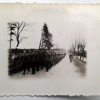 Старое фото Строй Вторая мировая война Германия nB c4b2cbacd895e