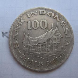 ИНДОНЕЗИЯ, 100 рупий 1978 года.