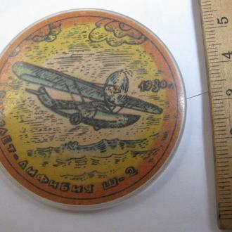 Значок Транспорт Літаки Самолёты Авиация Значки