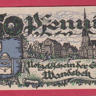 Германия Нотгельд г.Wandsbek. 1шт.