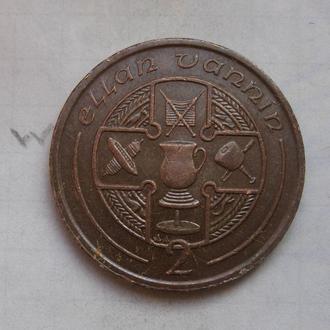 МЭН. 2 пенса 1994 года.