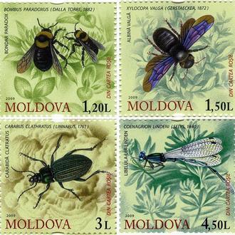 Молдова 2009 Красная книга. Насекомые **