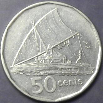 50 центів 2009 Фіджі