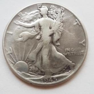 50 ЦЕНТОВ 1945 г США