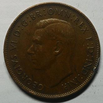 Австралия 1 пенни 1943