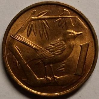 Кайманові острови 1 цент 1972