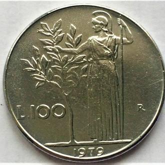 100 лир Италия 1979
