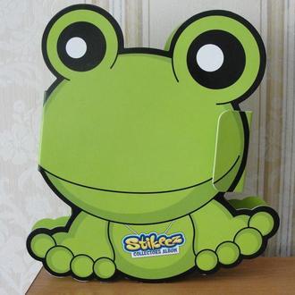 Stikeez, Стикиз, животные,коллекция+коробка,жаба,лягушка