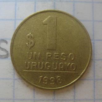 УРУГВАЙ, 1 песо 1998 года.