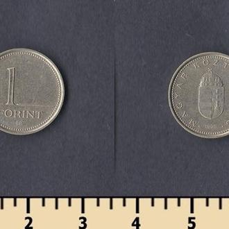 Венгрия 1 форинт 1996