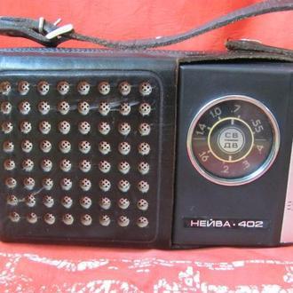 Радиоприемник Нейва 402 СССР 1984