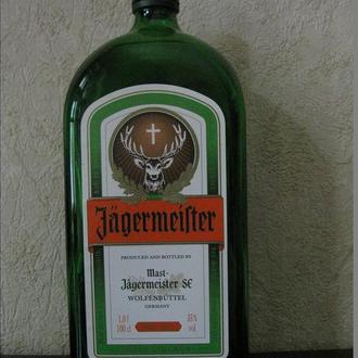 Бутылка в коллекцию или для интерьера № 10