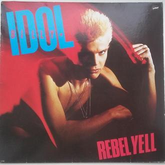 BILLY IDOL Rebel Yell   LP  VG++