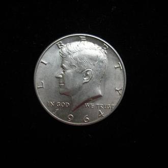Пол доллара 1964г. США ,  1/2 Доллара 1964г. , 50 центов США . СУПЕР!!!!!!