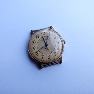 Часы Ракете, механические, золочение, проба AU