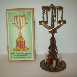 Игрушка сувенир ёлка ёлочка елка ГДР редкая