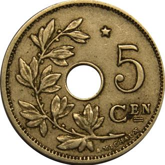 Бельгія 5 centimes 1931