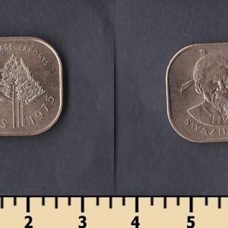 Свазиленд 2 цента 1975