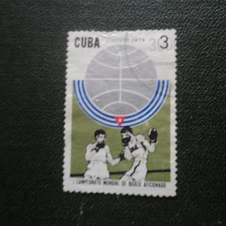 Куба 1974г. Бокс. Чемпионат мира.