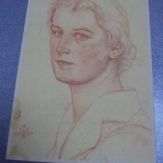 открытка германия 1937 №1297