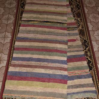 дорожка доріжка килим коврик хідник тканий 3,2 м (№896)