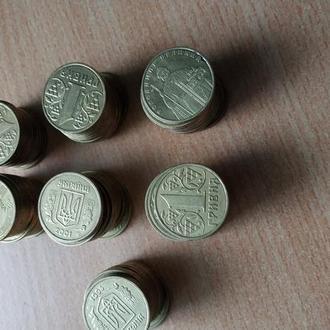 Монеты номиналом 1 гривна