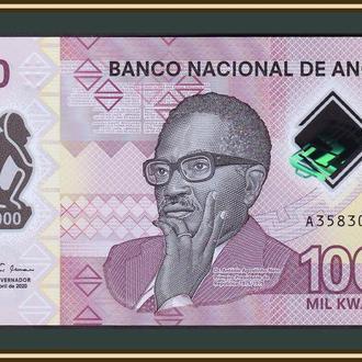 Ангола 1000 кванза 2020 P-161 (161a) UNC Новинка!