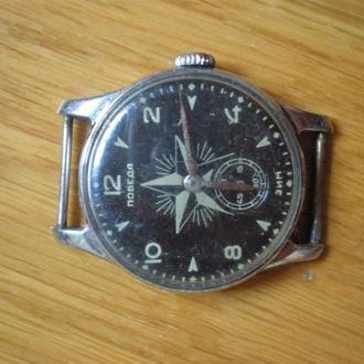 часы Победа черные со звездой сохран редкие 3009