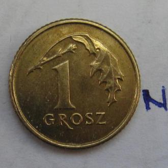 ПОЛЬША 1 грош 2013 г.