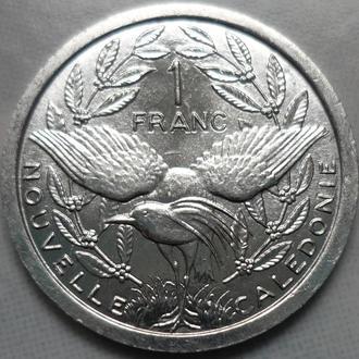 Новая Каледония 1 франк 2016 фауна состояние в коллекцию
