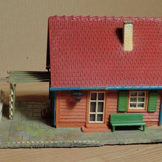 (1714) строение для макета в масштабе TT/H0 (1:120) (1:87)