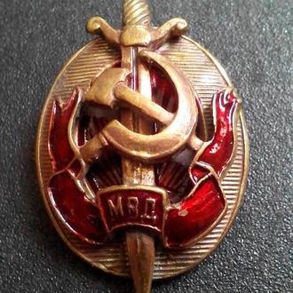 знак МВД копия