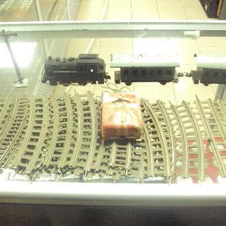 германия железная дорога VEB Metallwarenfabrik Stadtilm  гдр 1950 №8023