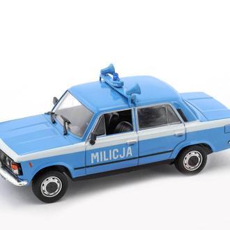 Fiat 125P Milicja (DeAgostini Kultowe Auta PRL-u )