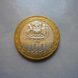 Чили 100 песо 2010