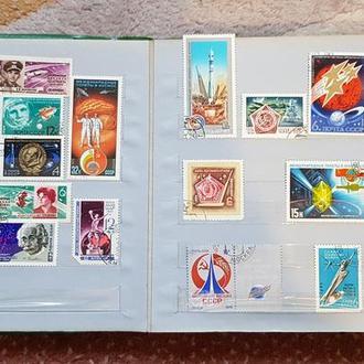 Продаю набор тематических марок периода СССР