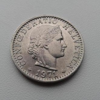 20 рапен 1971 Швейцарія