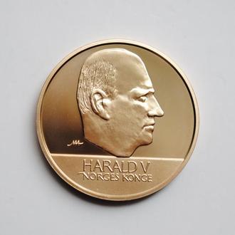 Норвегия 20 крон 1998 г., PROOF, 'Король Харальд V (1992 - 2018)'