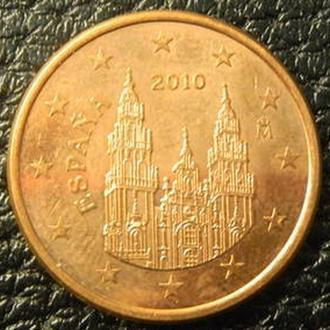 5 євроцентів 2010 Іспанія
