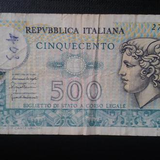 ИТАЛИЯ  500 лир 1976 год