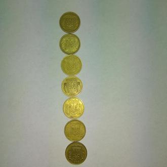 Украинские монеты 1992